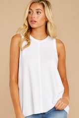 7 This Moment White Tank at reddressboutique.com