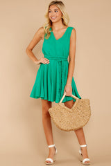 2 Quite Simply Shamrock Green Dress at reddressboutique.com