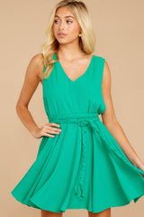 6 Quite Simply Shamrock Green Dress at reddressboutique.com