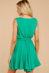 7 Quite Simply Shamrock Green Dress at reddressboutique.com