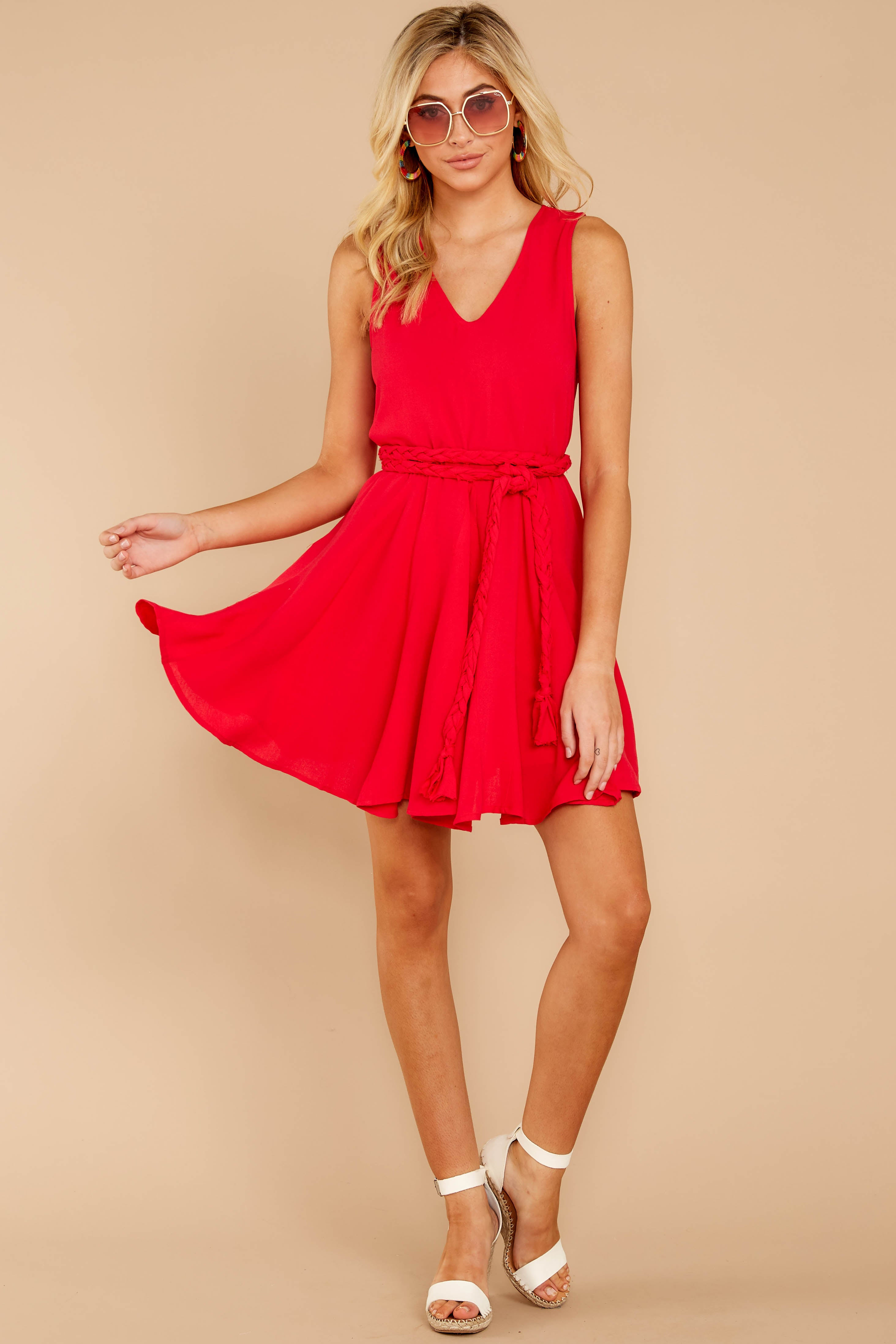 3 Quite Simply Red Dress at reddressboutique.com