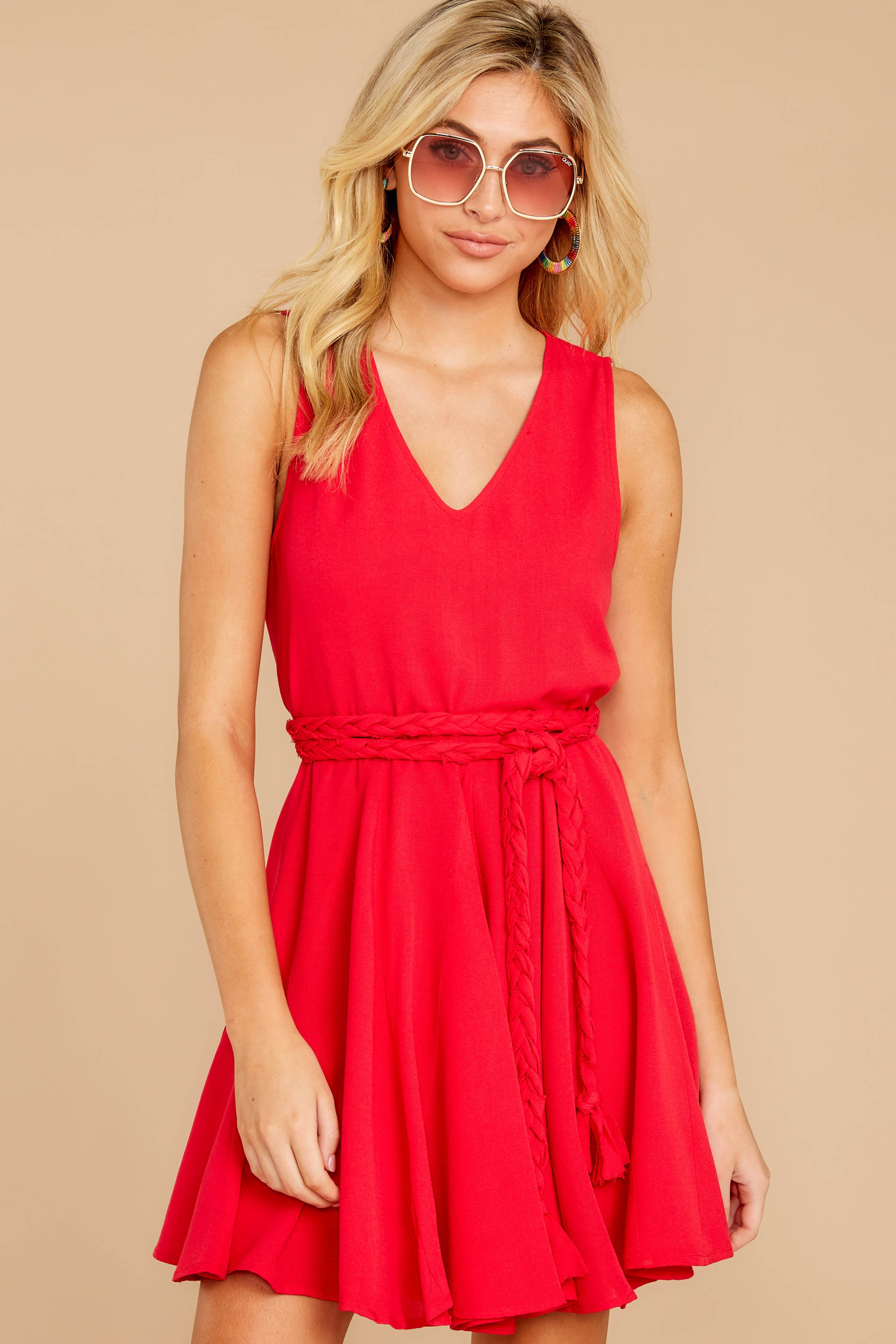4 Quite Simply Red Dress at reddressboutique.com