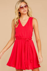5 Quite Simply Red Dress at reddressboutique.com