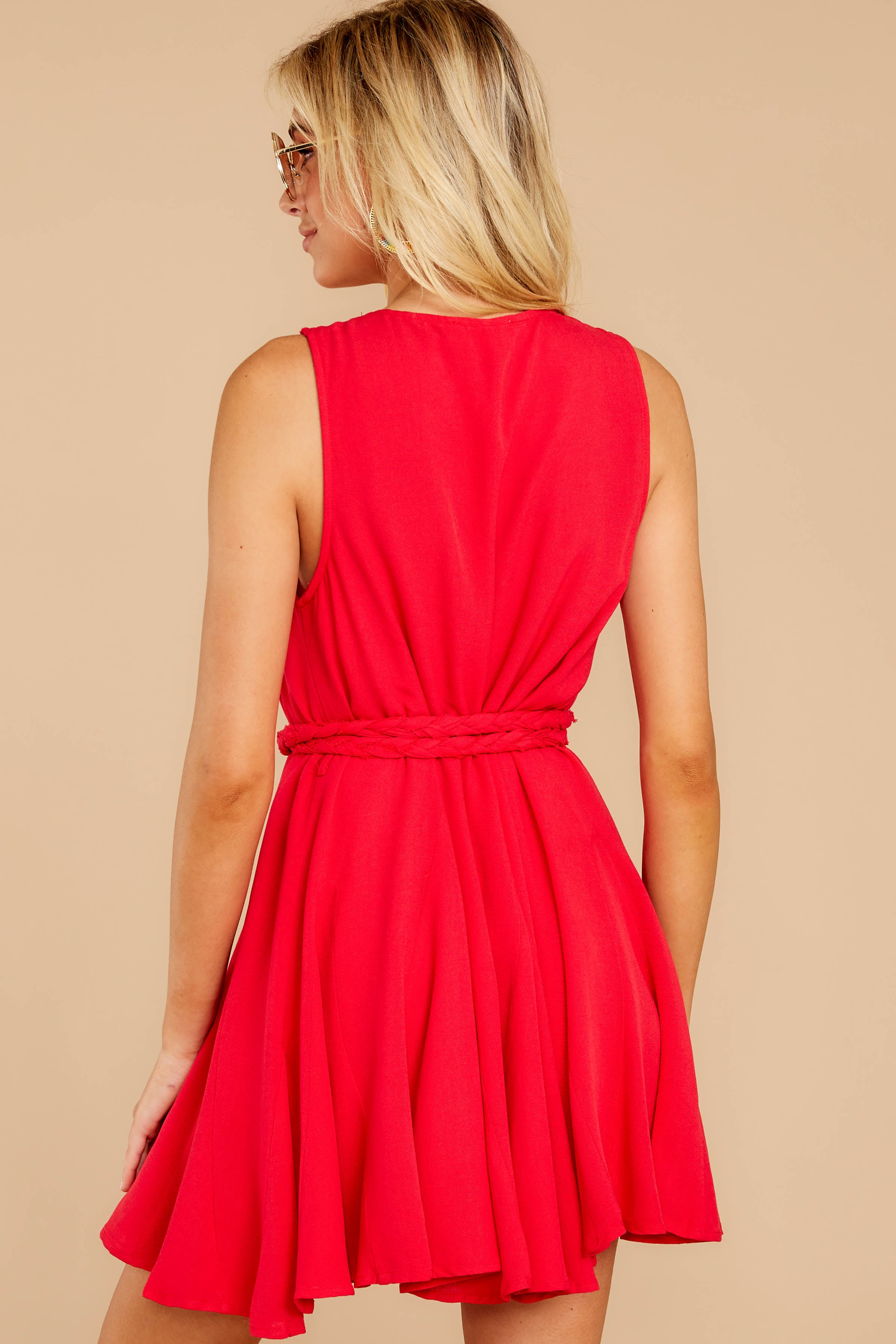 6 Quite Simply Red Dress at reddressboutique.com