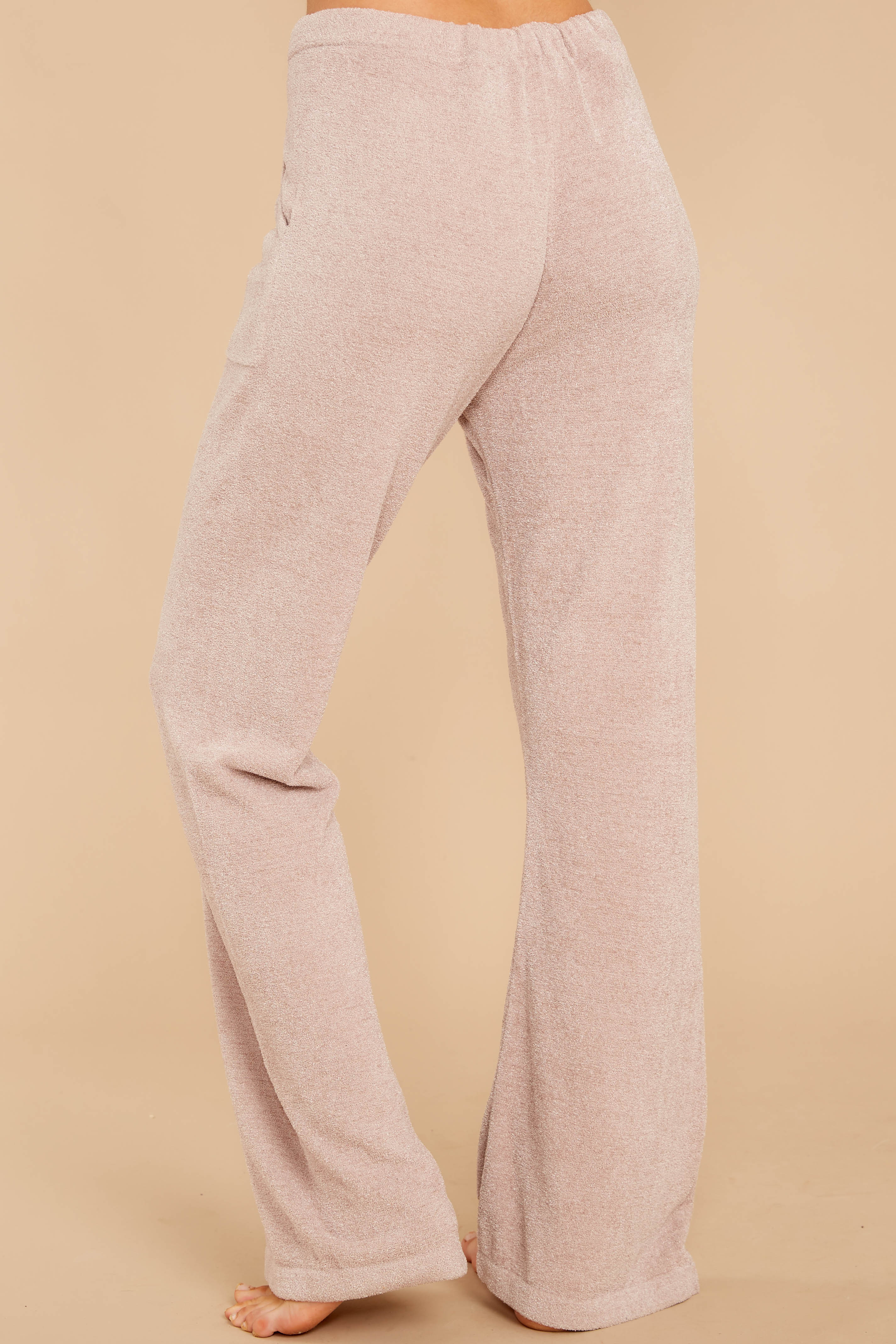 3 CozyChic Ultra Lite® Faded Rose Lounge Pants at reddressboutique.com
