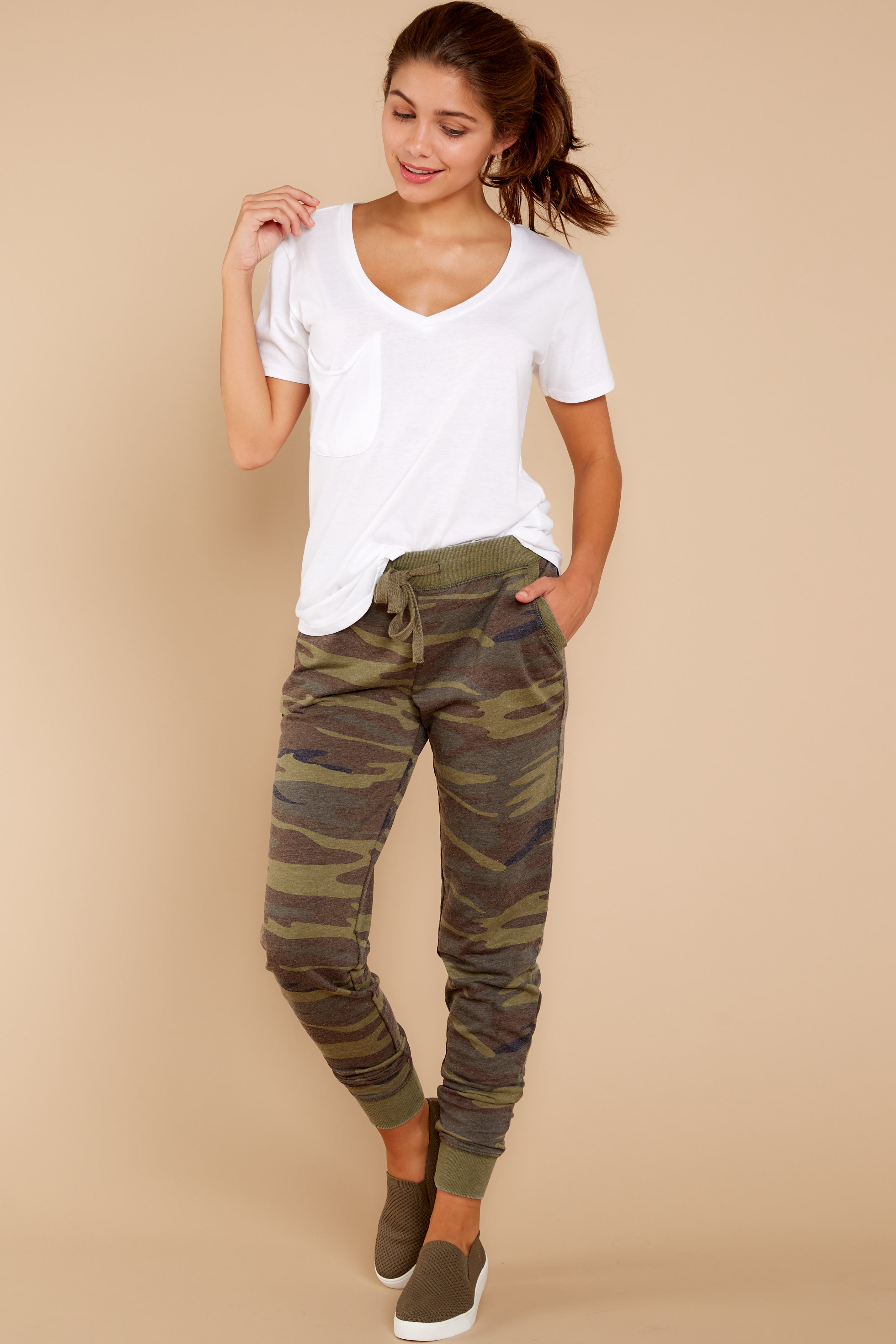 6 Camo Pants at reddressboutique.com