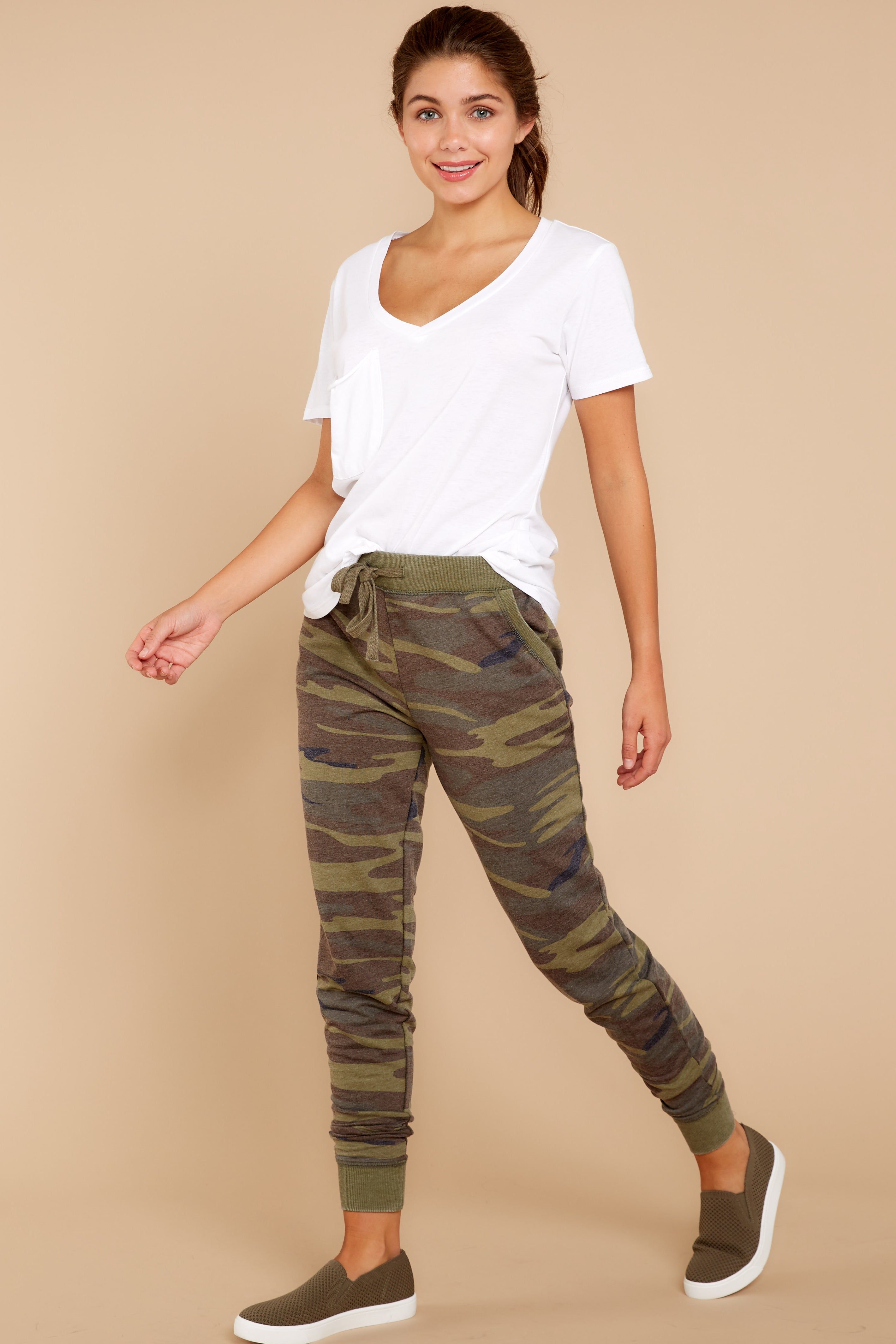 8 Camo Pants at reddressboutique.com