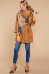 1 Off The Record Dark Camel Jacket at reddressboutique.com