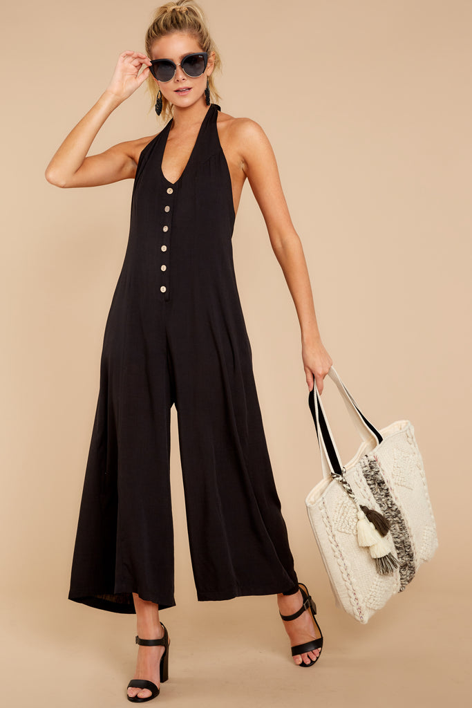1 How We Roll Black Jumpsuit at reddressboutique.com