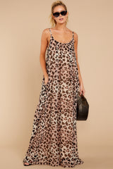 2 Something About It Maxi Dress In Tricky Intentions at reddressboutique.com