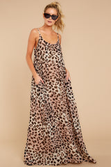 3 Something About It Maxi Dress In Tricky Intentions at reddressboutique.com