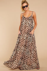 4 Something About It Maxi Dress In Tricky Intentions at reddressboutique.com