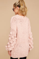 7 Always This Way Light Pink Sweater at reddressboutique.com