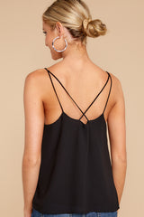 4 Believe It Or Not Black Top at reddressboutique.com