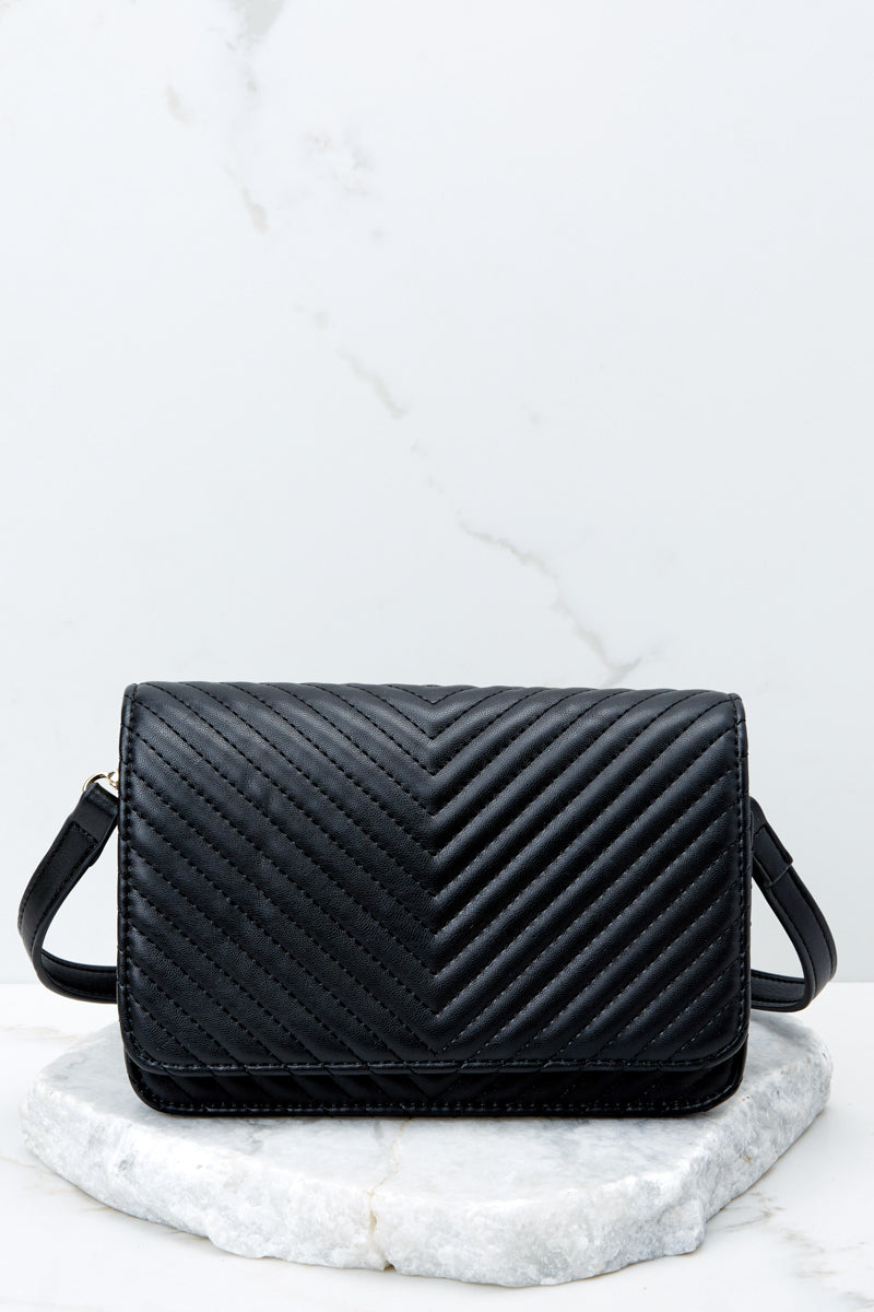2 Totally Chic Black Purse at reddressboutique.com