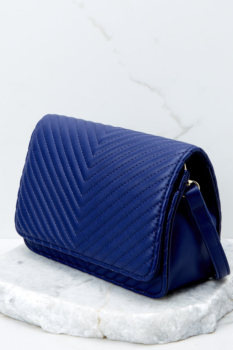 4 Totally Chic Navy Blue Purse at reddressboutique.com