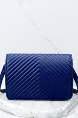 5 Totally Chic Navy Blue Purse at reddressboutique.com