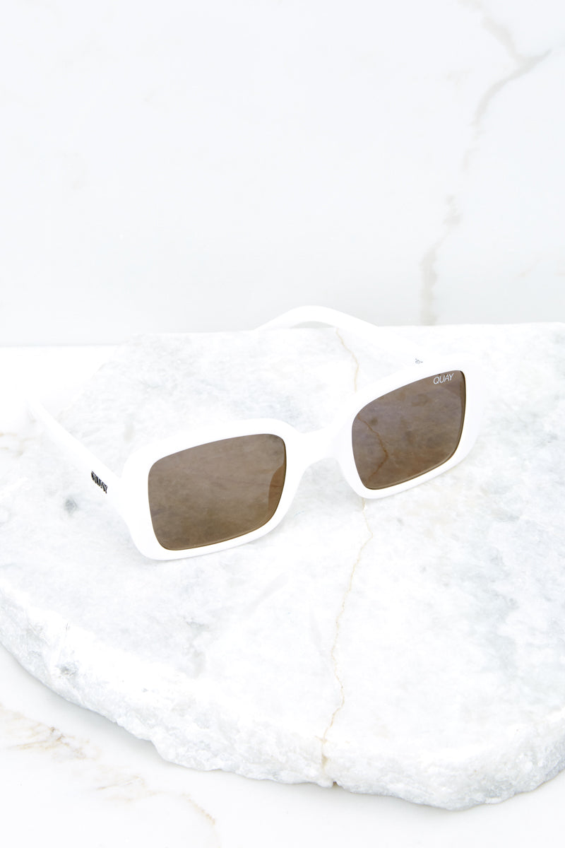 4 20's White Sunglasses at reddress.com
