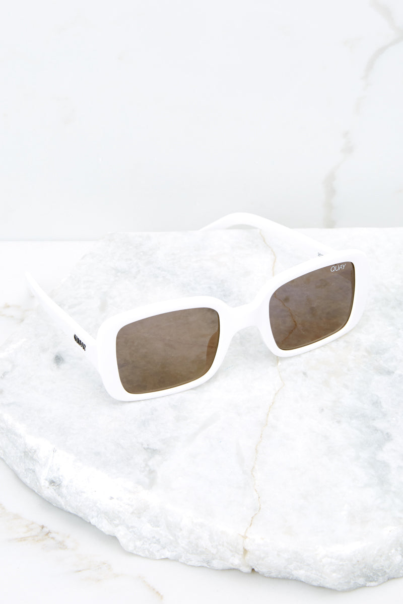 20's White Sunglasses at Red Dress.com