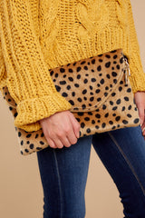 7 No New Tricks Cheetah Clutch at reddress.com