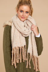 1 Fall Is Around White Multi Scarf at reddressboutique.com
