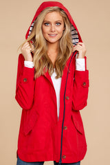 6 Feeling Chilly Red Jacket at reddressboutique.com