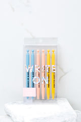 Encouragement Write On Mechanical Pencil Set