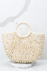 2 Right Back To It Ivory Bag at reddressboutique.com