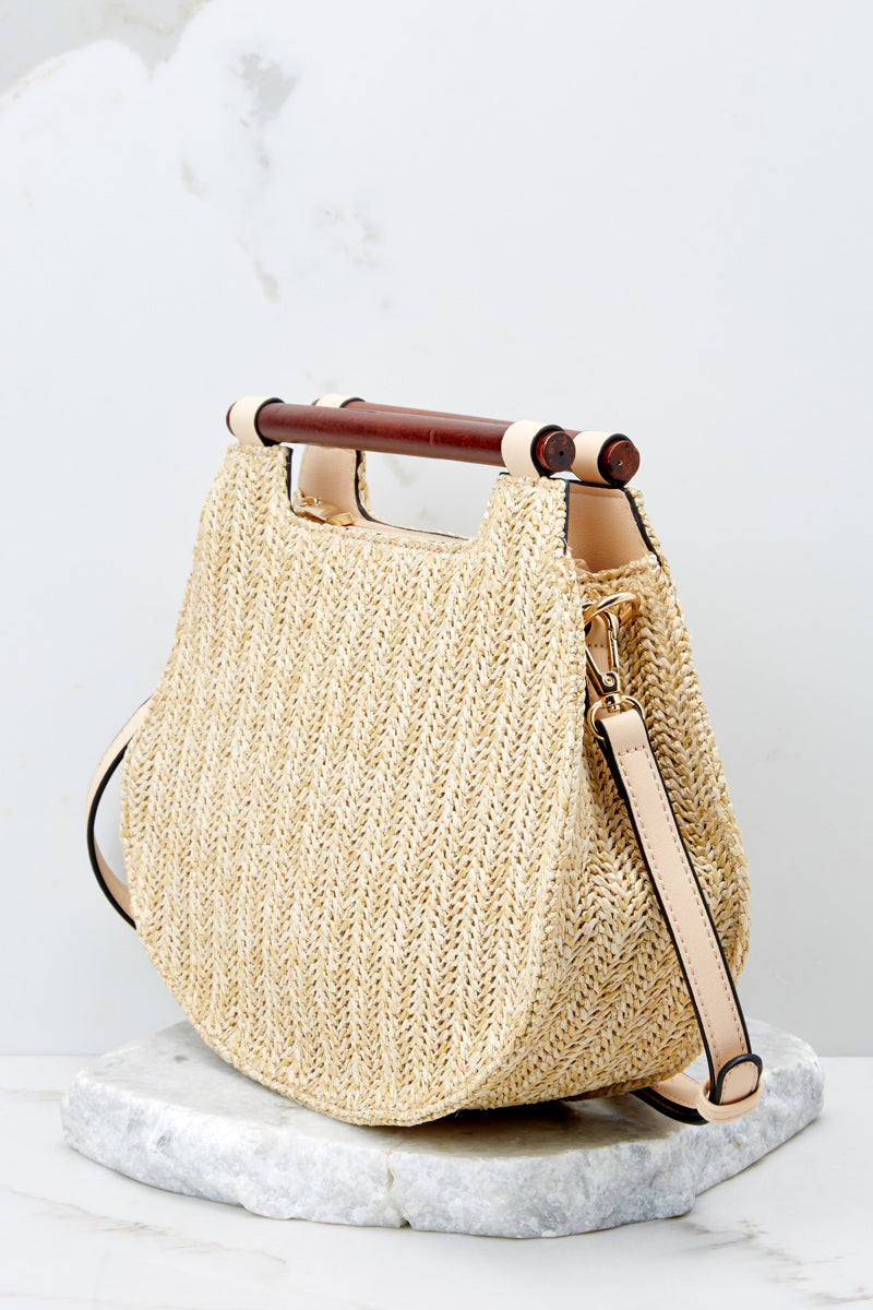 3 Always Working It Beige Handbag at reddressboutique.com