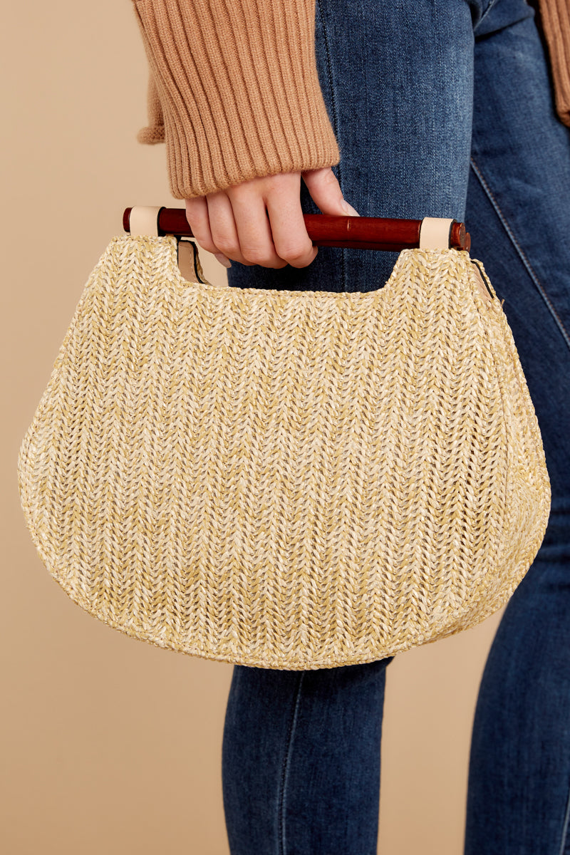 1 Always Working It Beige Handbag at reddressboutique.com
