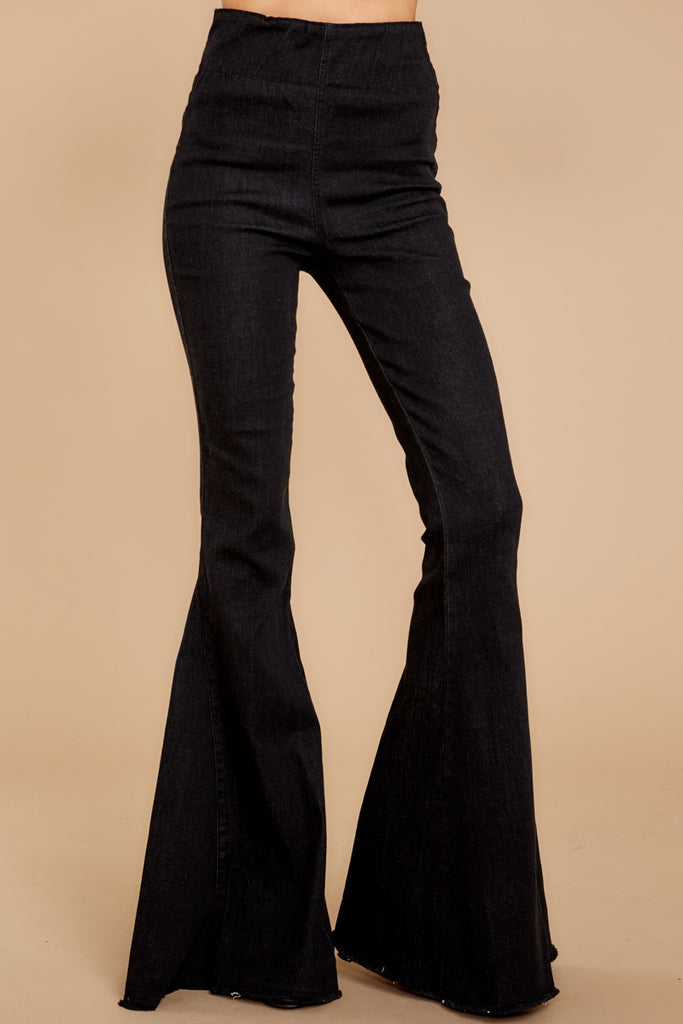 1 Told You Black Distressed Skinny Jeans at reddressboutique.com