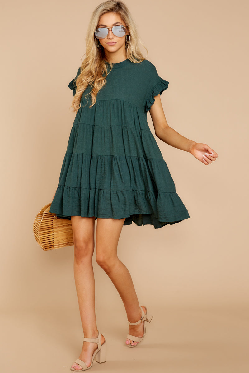 4 Nothing More Nothing Less Green Dress at reddressboutique.com