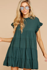 5 Nothing More Nothing Less Green Dress at reddressboutique.com