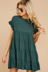 8 Nothing More Nothing Less Green Dress at reddressboutique.com