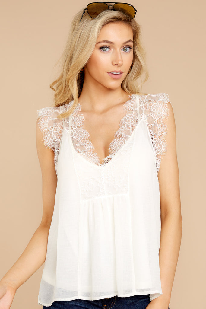 1 Safe Secrets White Lace Bralette at reddressboutique.com