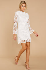 2 Final Impression White Lace Dress at reddressboutique.com