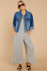 1 It's Gotta Be Done Medium Wash Denim Jacket at reddressboutique.com