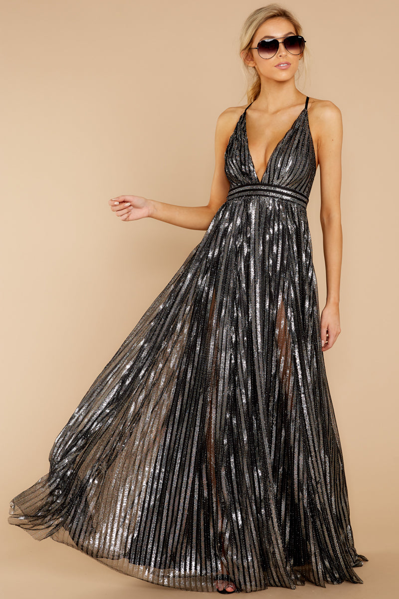 1 Best Distraction Black Maxi Dress at reddressboutique.com