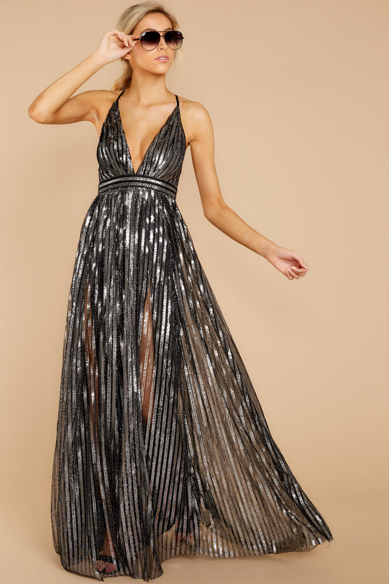 2 Best Distraction Black Maxi Dress at reddressboutique.com