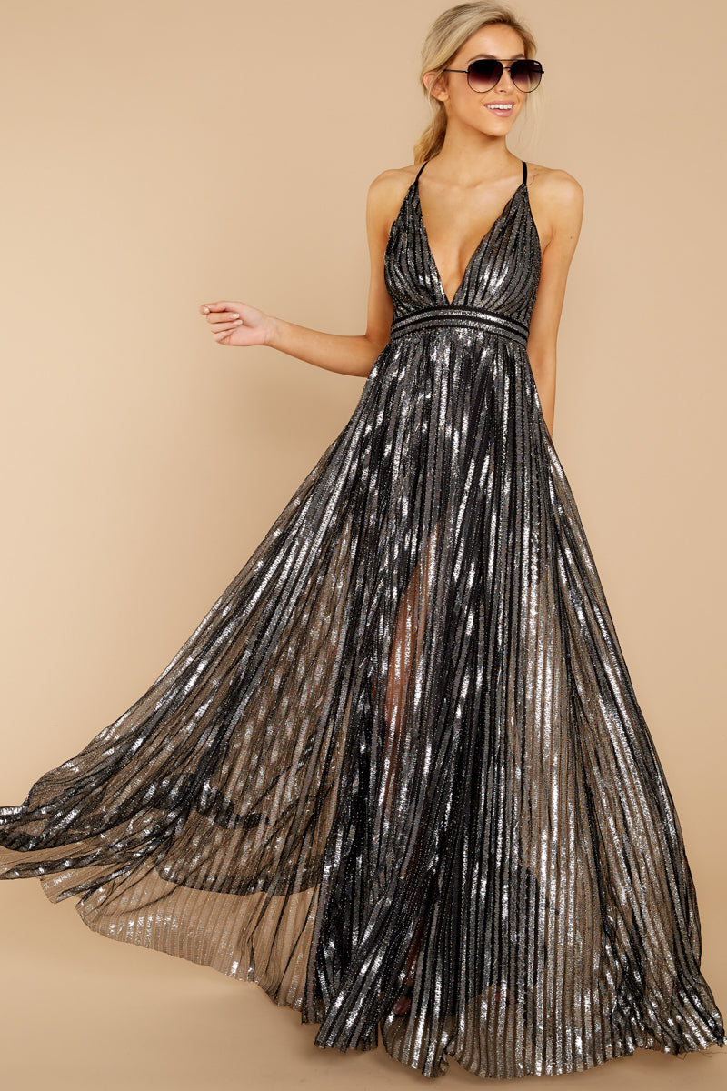 4 Best Distraction Black Maxi Dress at reddressboutique.com