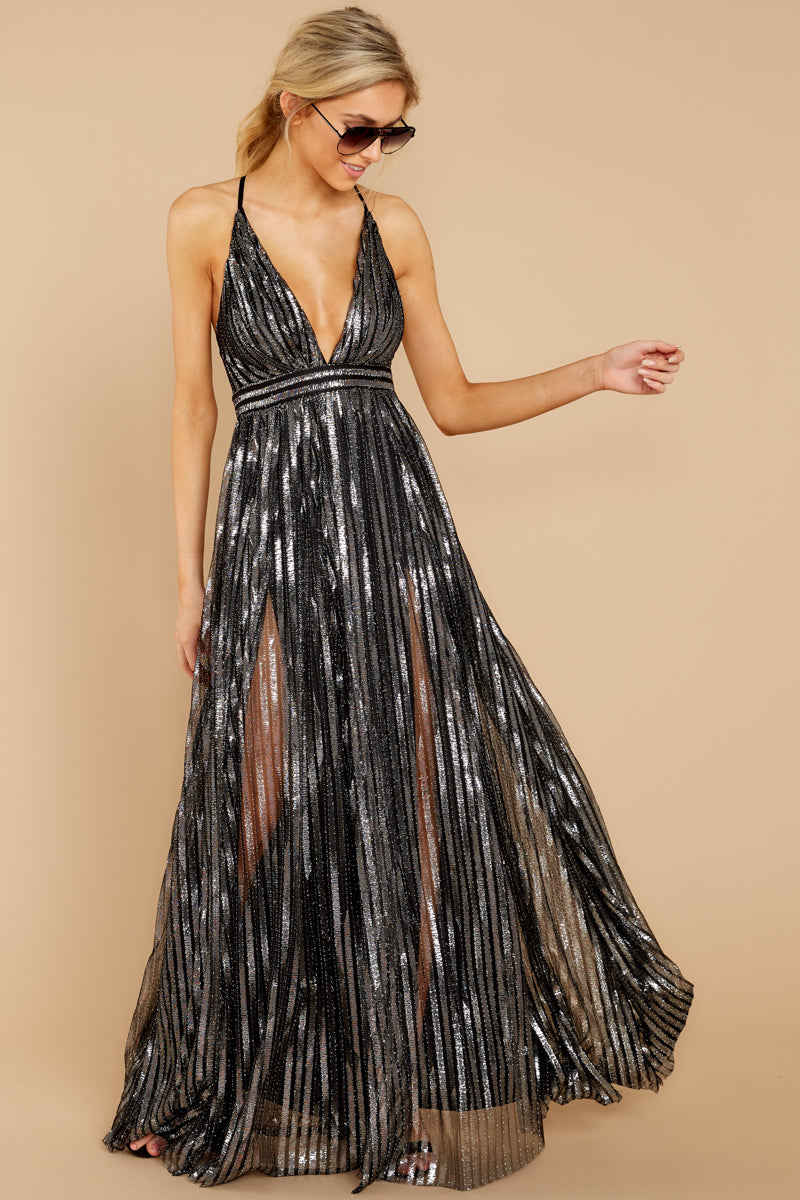5 Best Distraction Black Maxi Dress at reddressboutique.co