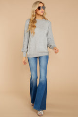 2 Wandering Through Winter Grey Sweater at reddressboutique.com