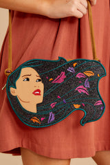1 Pocahontas Diecut Crossbody Purse at reddressboutique.com