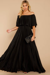 2 Like A Song Black Maxi Dress at reddressboutique.com