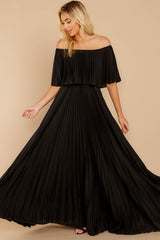 1 Like A Song Black Maxi Dress at reddressboutique.com