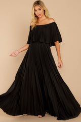 5 Like A Song Black Maxi Dress at reddressboutique.com