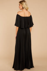 7 Like A Song Black Maxi Dress at reddressboutique.com