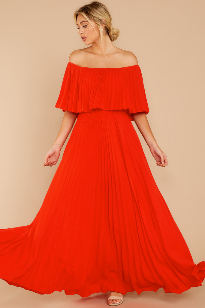 1 In Any Event Red Maxi Dress at reddressboutique.com