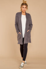1 CozyChic Lite® Ash Long Weekend Cardi at reddressboutique.com