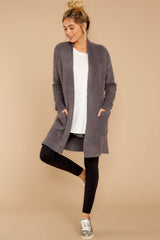 3 CozyChic Lite® Ash Long Weekend Cardi at reddressboutique.com